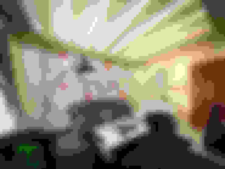 Living room:  غرفة المعيشة تنفيذ EL Mazen For Finishes and Trims