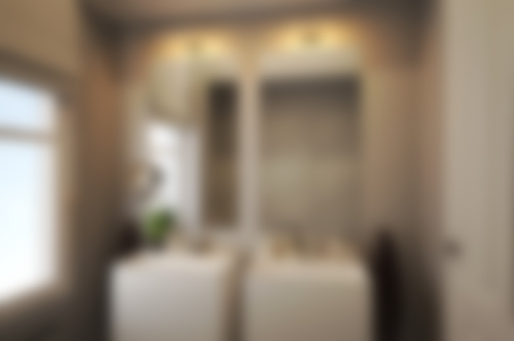 Salle de bain design: Salle de bains de style  par Agence KP