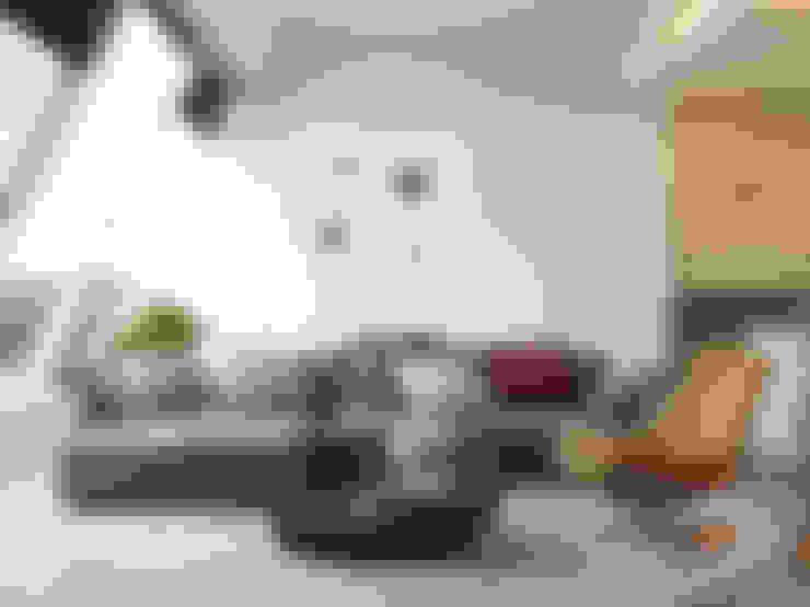 Пентхаус в Садовых Кварталах: Гостиная в . Автор – Kerimov Architects