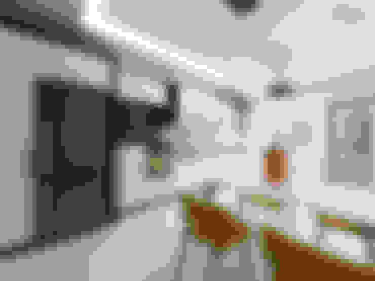 nihle iç mimarlık – Ergun İnşaat Örnek Daire:  tarz Mutfak