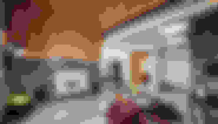 The Metaphor of Residence─冠德鼎極.居所的隱喻:  客廳 by DYD INTERIOR大漾帝國際室內裝修有限公司