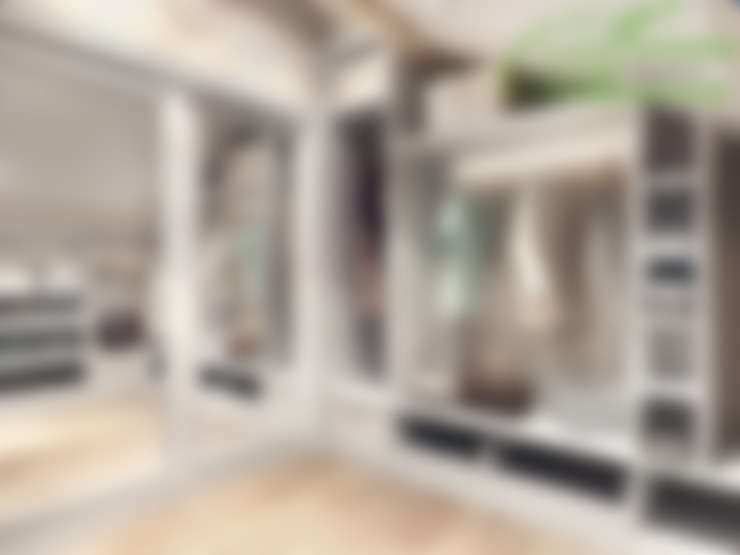 更衣室 by Компания архитекторов Латышевых 'Мечты сбываются'