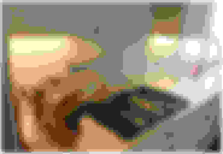 Sector anafe: Cocinas de estilo  por KorteSa arquitectura