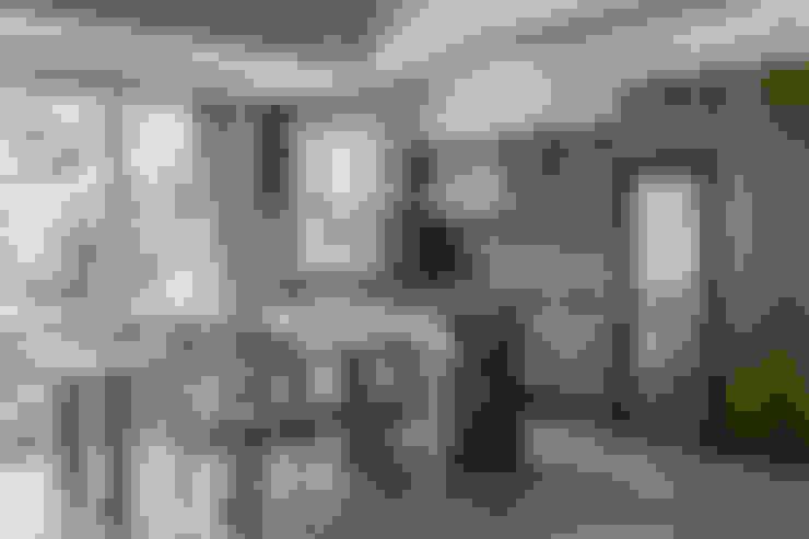 Cocinas de estilo  por 潤澤明亮設計事務所
