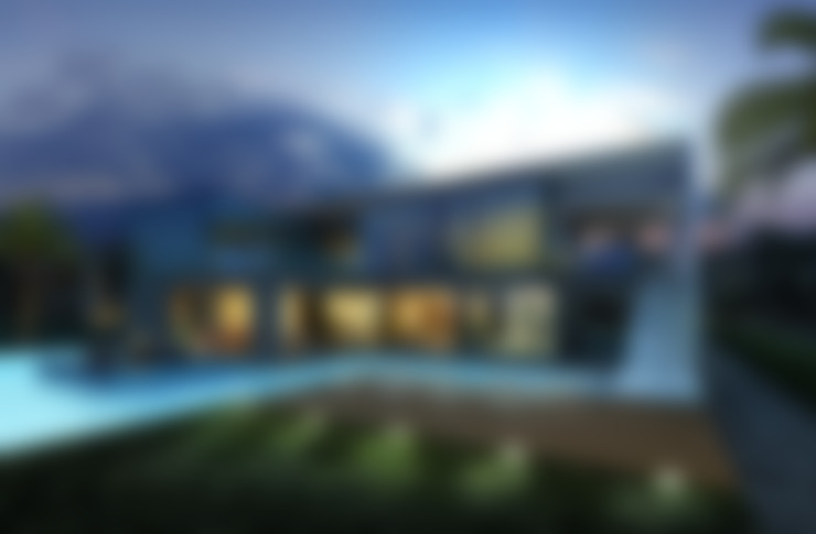 villa on the Palm Jumeirah: Дома в . Автор – ALEXANDER ZHIDKOV ARCHITECT