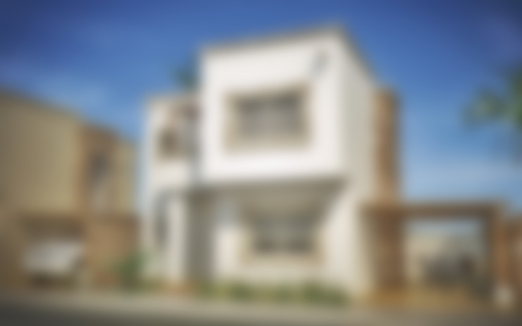 Casas de estilo  por Gestec