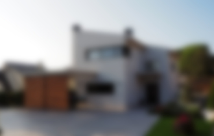 Fachada Principal: Casas de estilo  de Atres Arquitectes