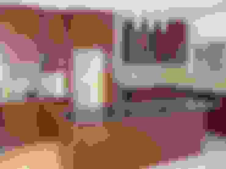 HOUSE SIBIYA:  Kitchen by Lifestyle Architecture
