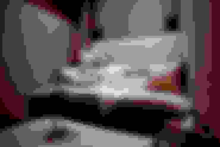 غرفة الميديا تنفيذ Joe Ginsberg Design