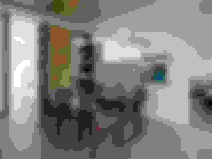 غرفة السفرة تنفيذ 夏沐森山設計整合