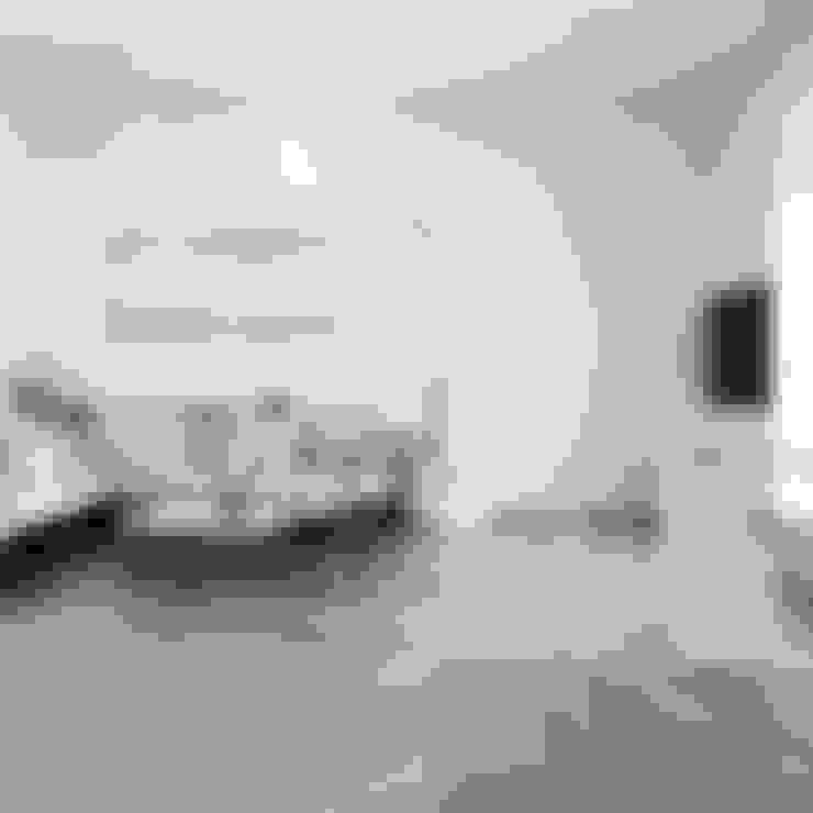 Living room by andrea borri architetti