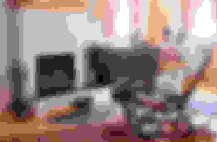 Living room by THULE Blockhaus GmbH - Ihr Fertigbausatz für ein Holzhaus