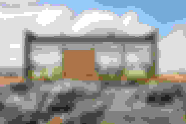 Huizen door Woody-Holzhaus - Kontio