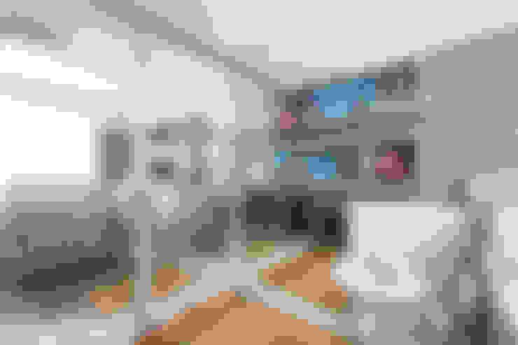 غرفة الاطفال تنفيذ Aline Dal Pizzol Aquitetura de Interiores