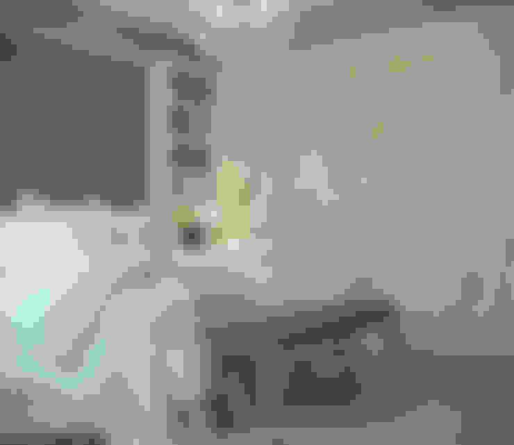 غرفة نوم تنفيذ Студия интерьера Дениса Серова
