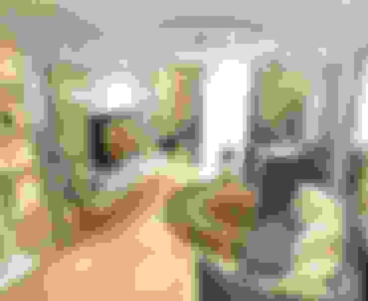 غرفة المعيشة تنفيذ Студия интерьера Дениса Серова