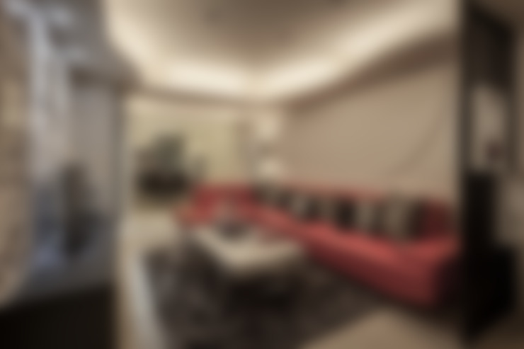 Гостиная в . Автор – Green Leaf Interior青葉室內設計