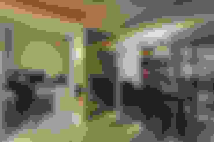 Столовые комнаты в . Автор – Green Leaf Interior青葉室內設計