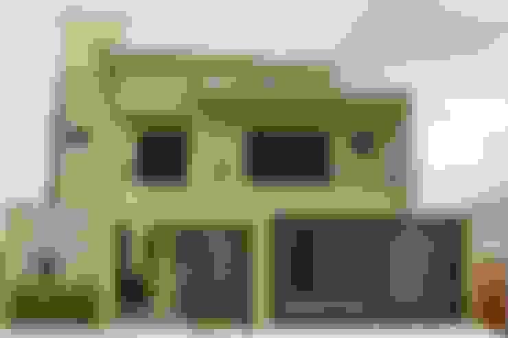 Garajes y galpones de estilo  por Pz arquitetura e engenharia