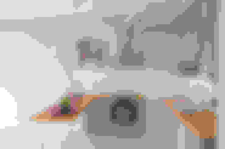 Mandalin Dizayn – Sinpaş Ege Boyu 1+1 Daire Tadilat Projesi:  tarz Mutfak