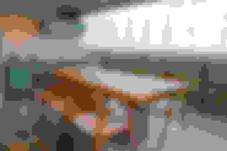 Varandas: Terraços  por Ju Nejaim Arquitetura