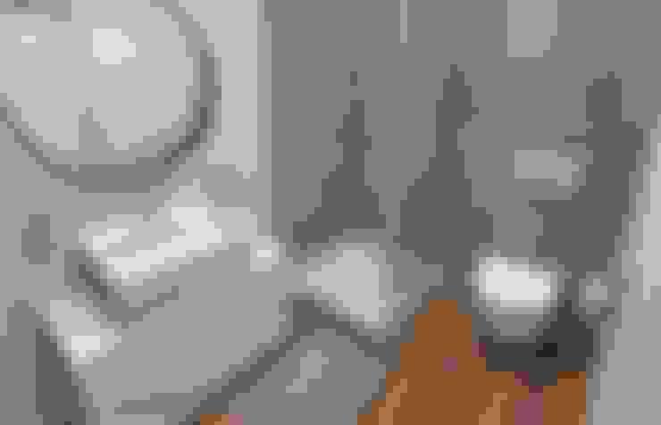 浴室 by Pracownia Projektowa MOJE