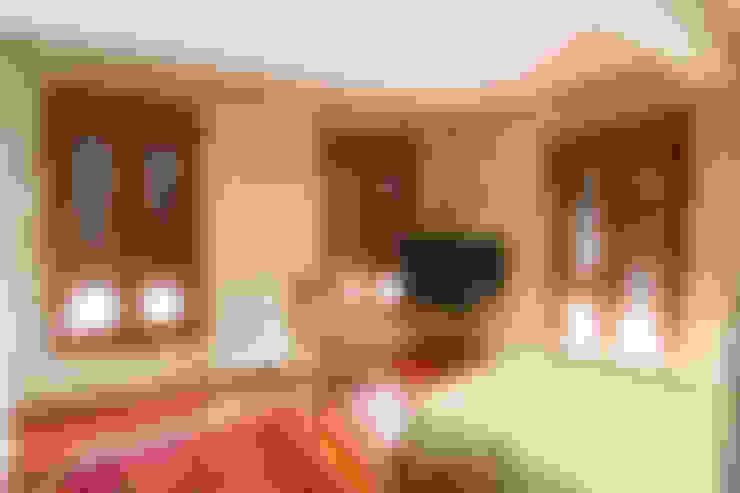 Dormitorios de estilo  por NAM ARQUITECTOS SLP