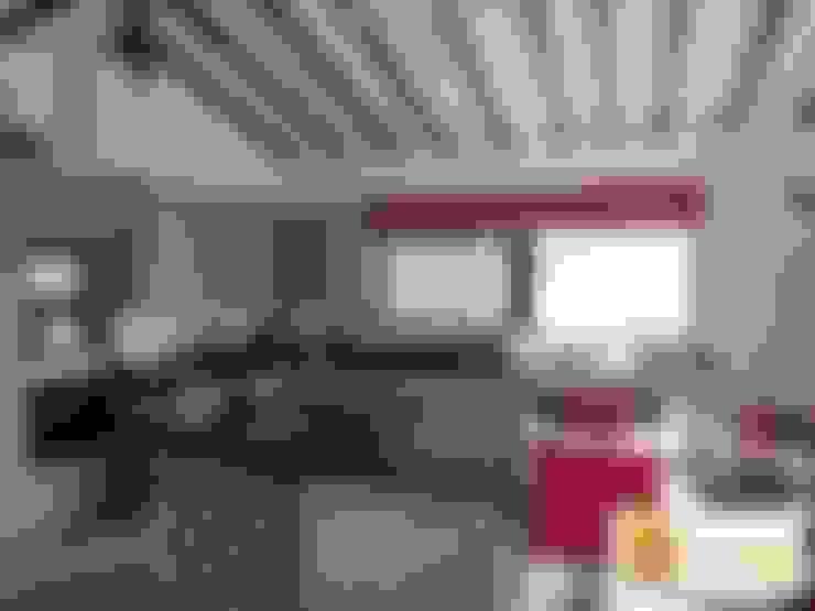 Casa pre fabricada en bogotá: Cocinas de estilo  por PREFABRICASA