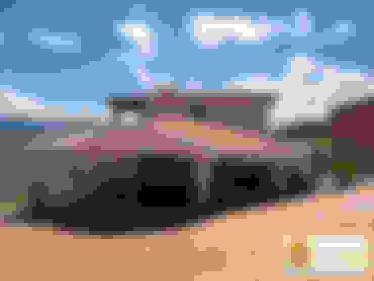 Casa pre fabricada en bogotá: Casas de estilo  por PREFABRICASA