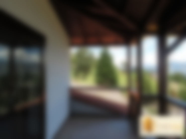 Casa pre fabricada en bogotá: Terrazas de estilo  por PREFABRICASA