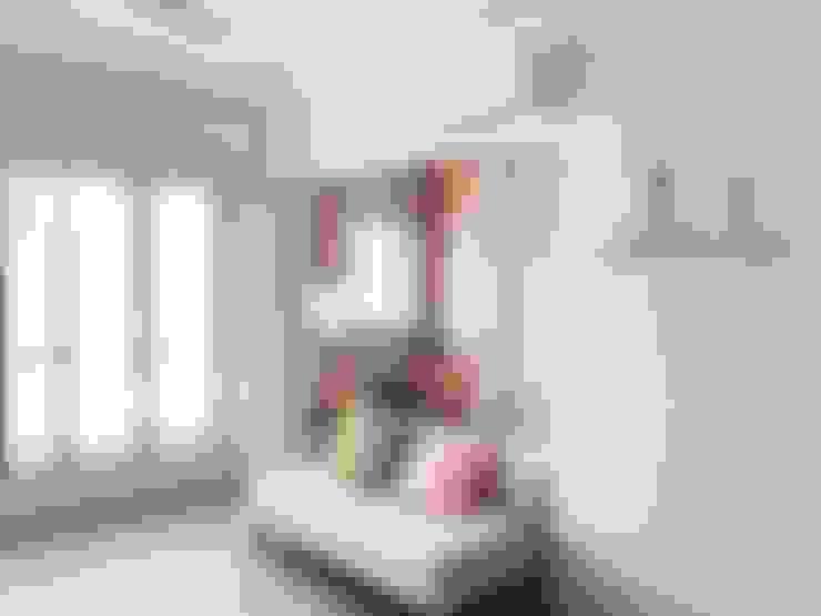 غرفة المعيشة تنفيذ Singapore Carpentry Pte Ltd