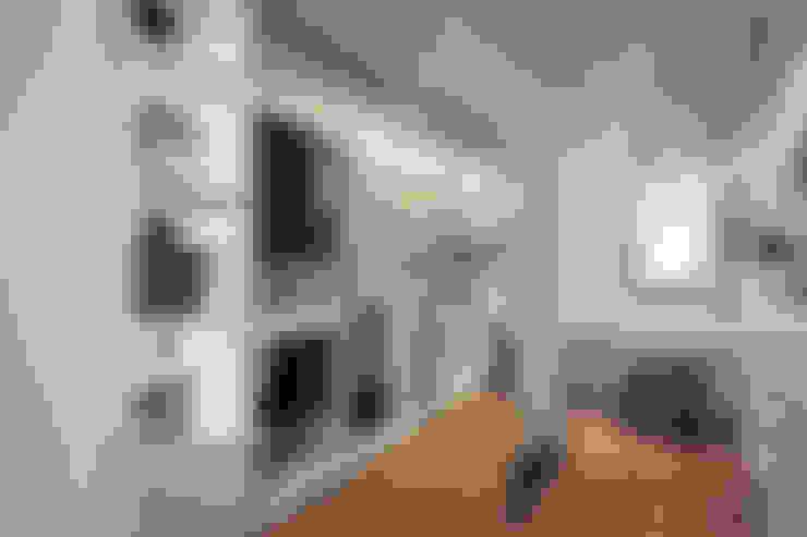 مكتب عمل أو دراسة تنفيذ 你你空間設計