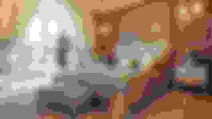 غرفة نوم:  غرفة نوم تنفيذ القصر للدهانات والديكور