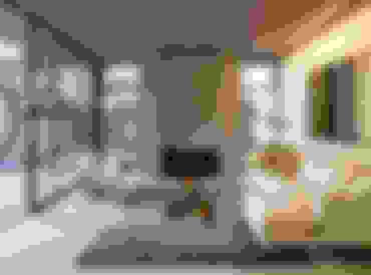غرفة المعيشة تنفيذ Feldman Architecture