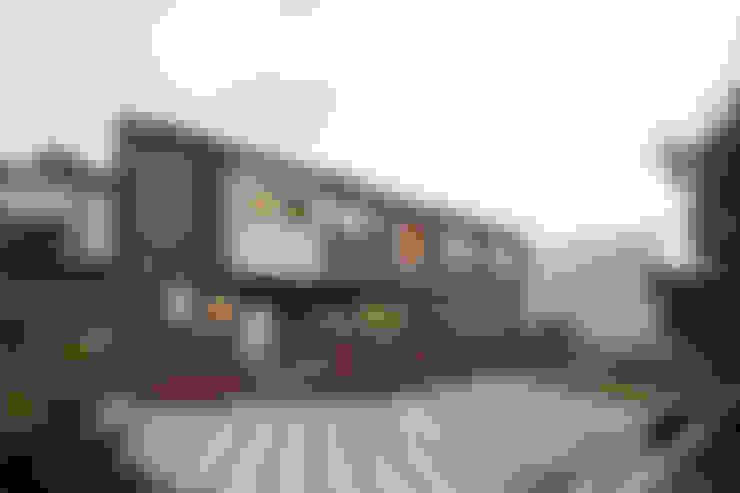 남측 정면 외관: 주택설계전문 디자인그룹 홈스타일토토의  주택