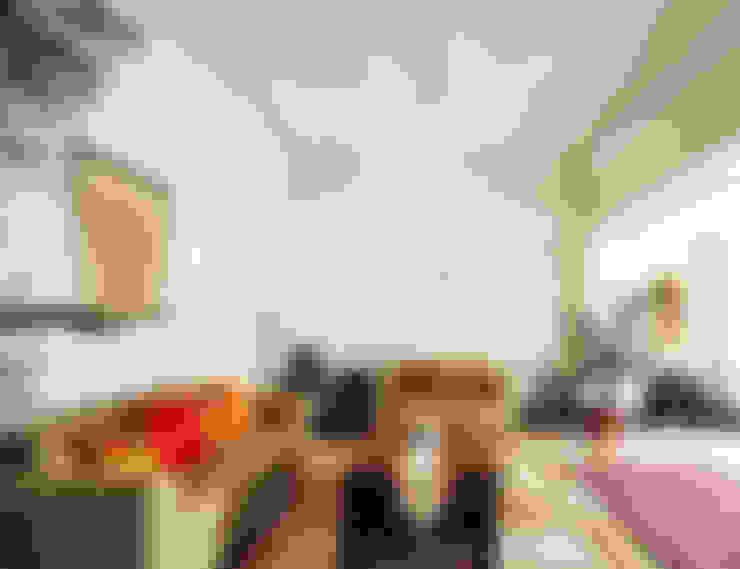 غرفة المعيشة تنفيذ Dhruva Samal & Associates
