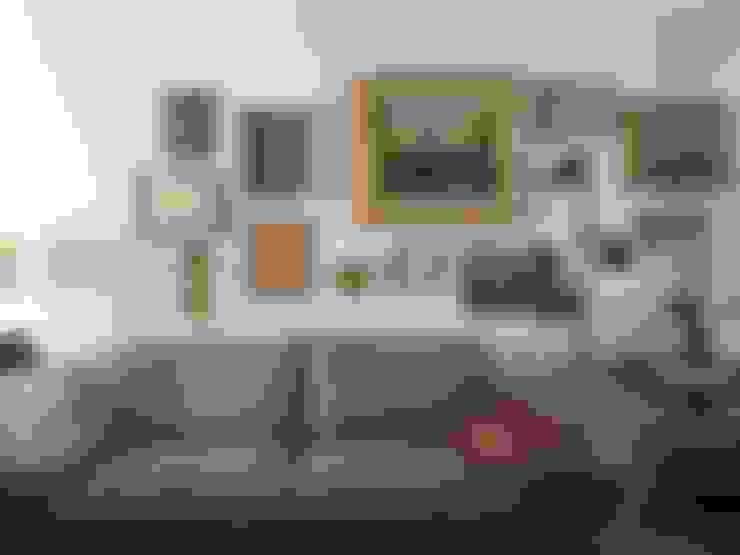 Living room by QFProjectbuilding, Unipessoal Lda