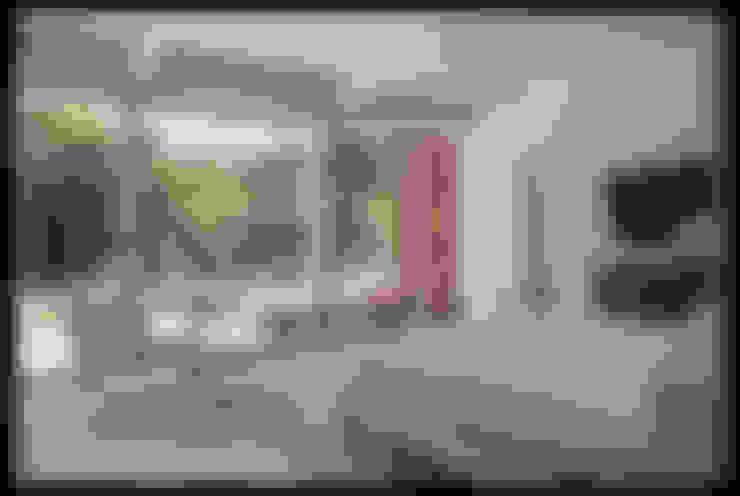 Emerald Street Residence, New Orleans:  Bedroom by studioWTA