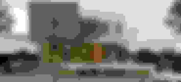 Estudio de Texturas - Visualización de proyecto: Casas de estilo  por CASTELLINO ARQUITECTOS (+)