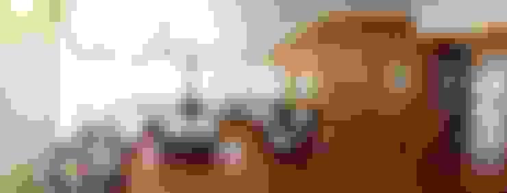 Revestimiento modular de terciado vitrificado : Paredes y pisos de estilo  por ARQUITECTURA E INGENIERIA PUNTAL LIMITADA