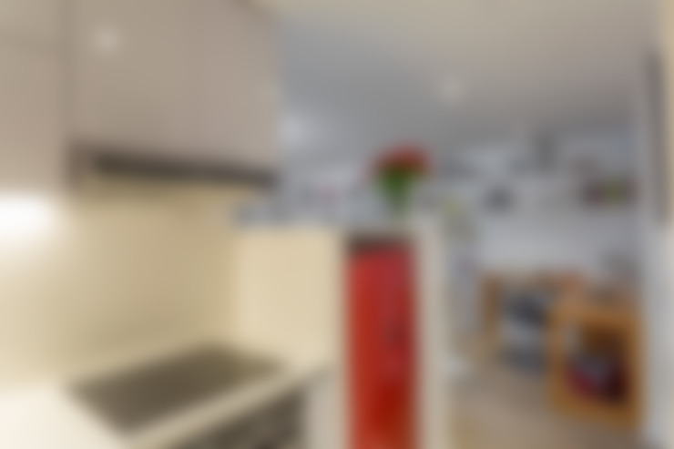 Apto Cll 62 - Cr 4 : Cocinas de estilo  por Bloque B Arquitectos