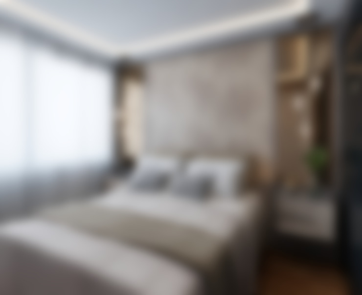 Dormitorios de estilo  por Marilia Zimmermann Arquitetura e Interiores