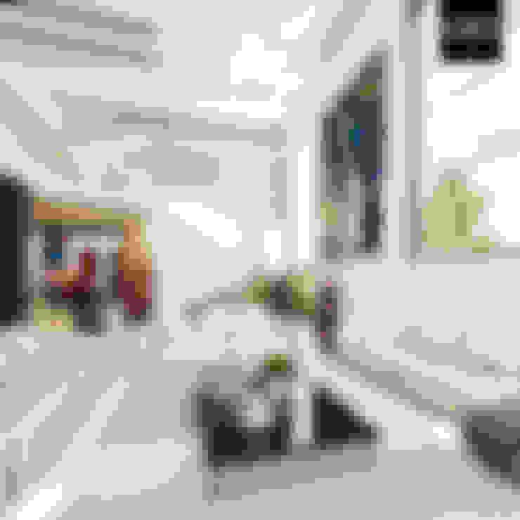 Livings de estilo  por HZH Arquitectura & Diseño