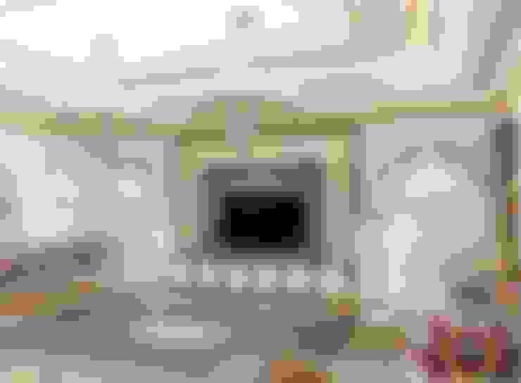 غرفة المعيشة تنفيذ Luxury Antonovich Design