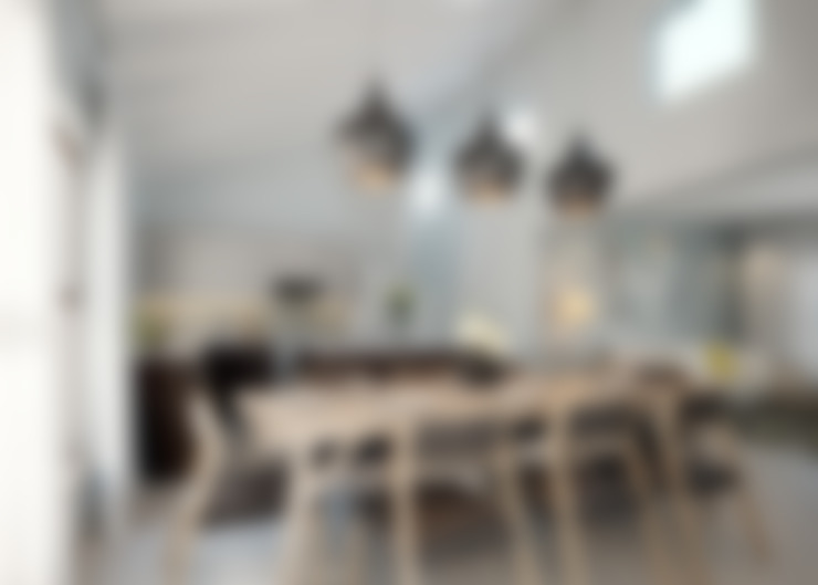 Residential Development:  Dining room by HEID Interior Design