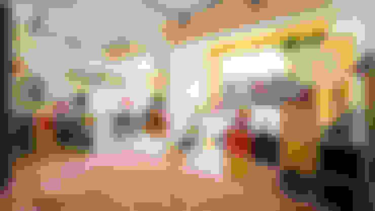 臥室:  臥室 by 一葉藍朵設計家飾所 A Lentil Design