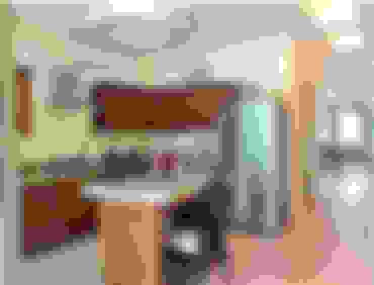 Cocinas equipadas de estilo  por SG Huerta Arquitecto Cancun
