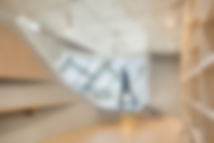 Projekty,  Korytarz, przedpokój zaprojektowane przez AND(에이엔디) 건축사사무소