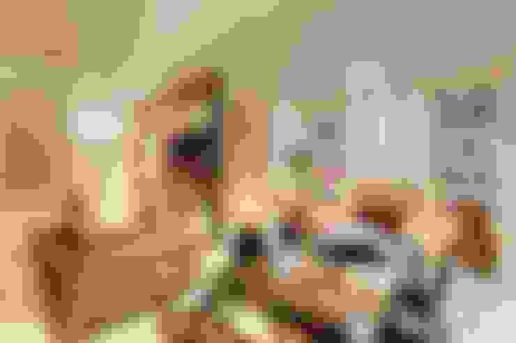 Salas / recibidores de estilo  por JANAINA NAVES - Design & Arquitetura