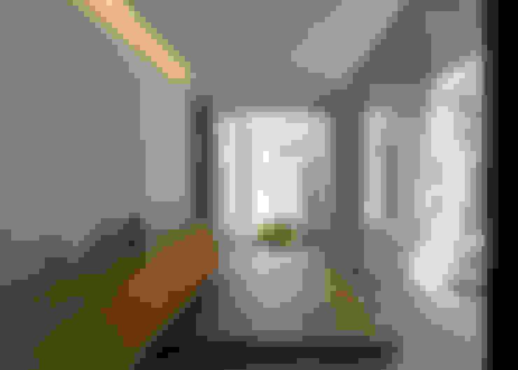 الممر والمدخل تنفيذ Architet6建築事務所